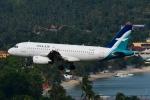 RUSSIANSKIさんが、サムイ国際空港で撮影したシルクエア A319-132の航空フォト(飛行機 写真・画像)