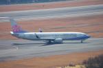 サボリーマンさんが、広島空港で撮影したチャイナエアライン 737-8Q8の航空フォト(写真)