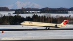 WINGさんが、女満別空港で撮影した日本航空 MD-90-30の航空フォト(写真)