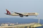 T.Sazenさんが、関西国際空港で撮影したカタール航空 777-3DZ/ERの航空フォト(飛行機 写真・画像)