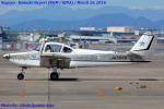 Chofu Spotter Ariaさんが、名古屋飛行場で撮影した日本個人所有 FA-200-180 Aero Subaruの航空フォト(飛行機 写真・画像)