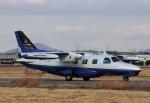 ありさんが、名古屋飛行場で撮影した三菱重工業 MU-2B-36の航空フォト(写真)