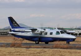 ありさんが、名古屋飛行場で撮影した三菱重工業 MU-2B-36の航空フォト(飛行機 写真・画像)