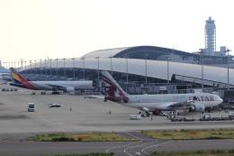 kenzy201さんが、関西国際空港で撮影したカタール航空 A330-202の航空フォト(飛行機 写真・画像)