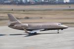 kumagorouさんが、山形空港で撮影したユタ銀行 Falcon 2000EXの航空フォト(飛行機 写真・画像)