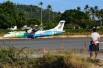 RUSSIANSKIさんが、サムイ国際空港で撮影したバンコクエアウェイズ ATR-72-500 (ATR-72-212A)の航空フォト(飛行機 写真・画像)