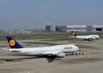 じーく。さんが、羽田空港で撮影したルフトハンザドイツ航空 747-830の航空フォト(写真)