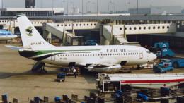 twinengineさんが、アムステルダム・スキポール国際空港で撮影したイーグル・エア 737-214の航空フォト(飛行機 写真・画像)