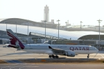 ハピネスさんが、関西国際空港で撮影したカタール航空 A330-202の航空フォト(写真)