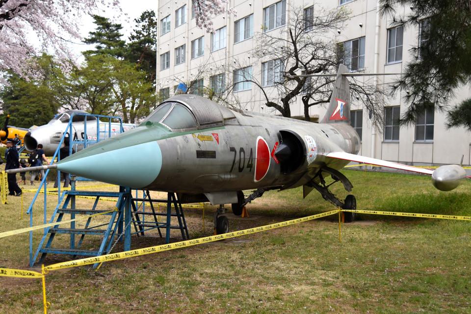 tsubasa0624さんの航空自衛隊 Mitsubishi F-104 (76-8704) 航空フォト