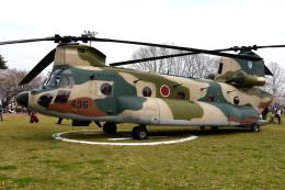 tsubasa0624さんが、熊谷基地で撮影した航空自衛隊 CH-47J/LRの航空フォト(写真)