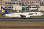 いおりさんが、福岡空港で撮影したスカイマーク 737-8HXの航空フォト(写真)