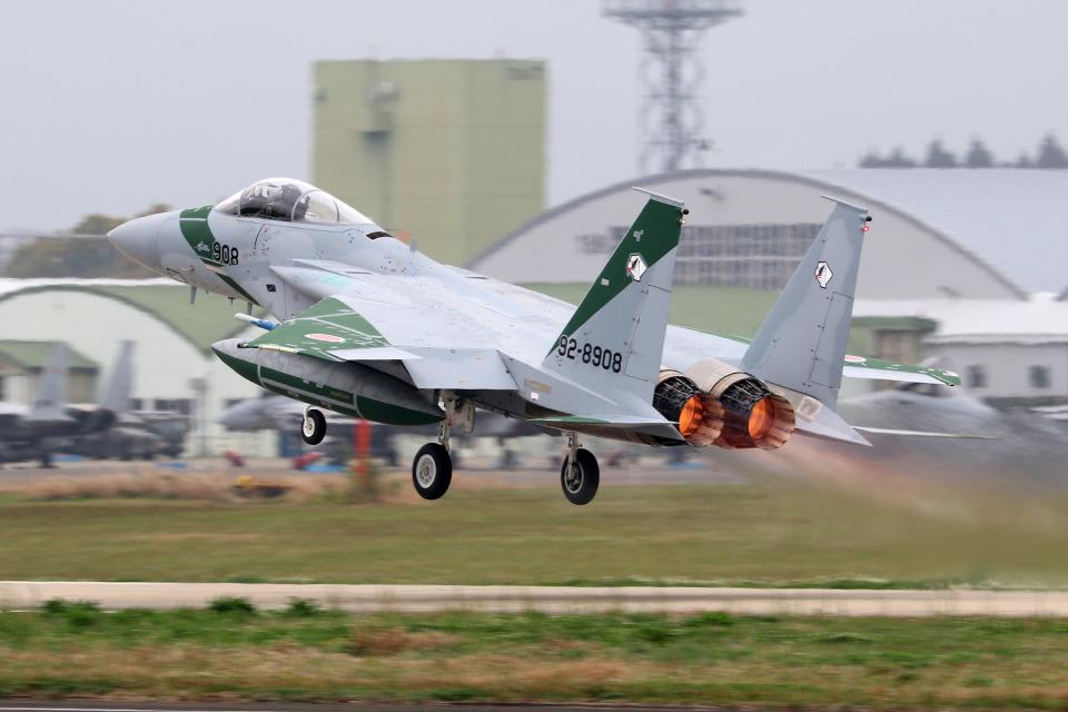 BENNYさんの航空自衛隊 Mitsubishi F-15J Eagle (92-8908) 航空フォト