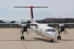 すやまさんが、隠岐空港で撮影した日本エアコミューター DHC-8-402Q Dash 8の航空フォト(飛行機 写真・画像)