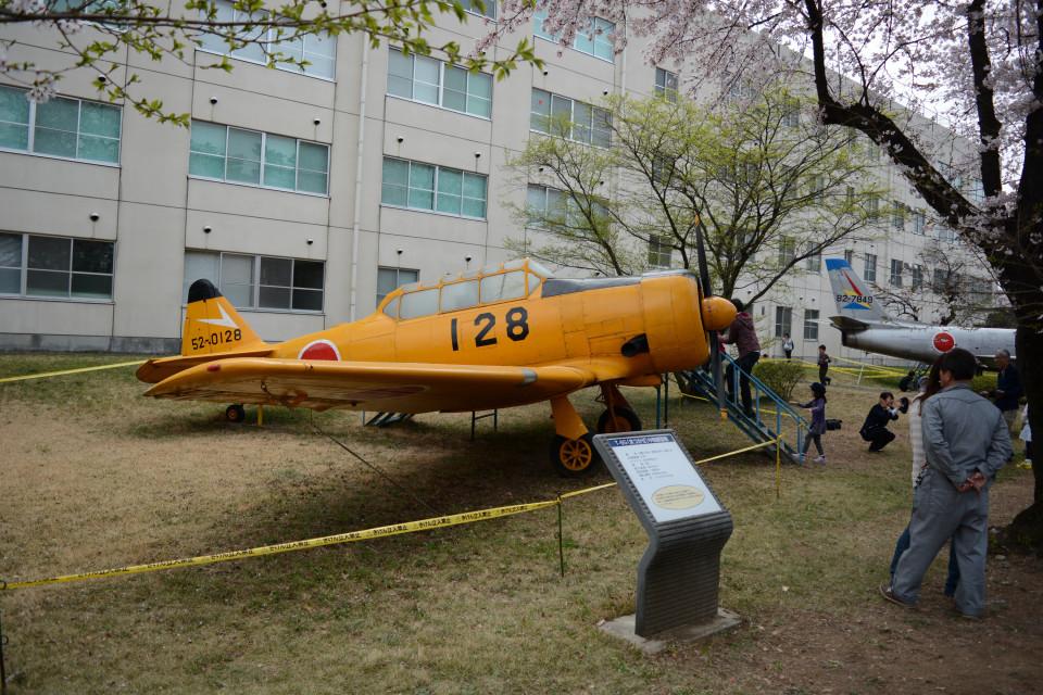 daisuke1228さんの航空自衛隊 North American T-6 Texan (52-0128) 航空フォト