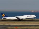 イーヌイさんが、羽田空港で撮影したルフトハンザドイツ航空 747-830の航空フォト(写真)