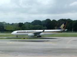 ぺペロンチさんが、シンガポール・チャンギ国際空港で撮影したシンガポール航空 A330-343Xの航空フォト(飛行機 写真・画像)