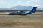 北の熊さんが、新千歳空港で撮影したオーロラ DHC-8-311Q Dash 8の航空フォト(写真)