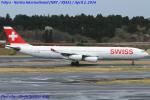 Chofu Spotter Ariaさんが、成田国際空港で撮影したスイスインターナショナルエアラインズ A340-313の航空フォト(写真)