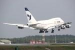 masa707さんが、クアラルンプール国際空港で撮影したイラン航空 747SP-86の航空フォト(写真)