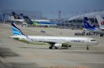 T.Sazenさんが、関西国際空港で撮影したエアプサン A321-131の航空フォト(飛行機 写真・画像)