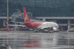 masa707さんが、広州白雲国際空港で撮影した深圳航空 737-87Lの航空フォト(飛行機 写真・画像)