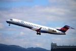 Kuuさんが、伊丹空港で撮影したアイベックスエアラインズ CL-600-2C10 Regional Jet CRJ-702の航空フォト(飛行機 写真・画像)