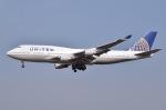 JA8961RJOOさんが、成田国際空港で撮影したユナイテッド航空 747-422の航空フォト(写真)
