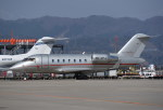 kumagorouさんが、仙台空港で撮影したビスタジェット CL-600-2B16 Challenger 605の航空フォト(飛行機 写真・画像)