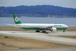 T.Sazenさんが、関西国際空港で撮影したエバー航空 777-35E/ERの航空フォト(写真)