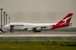 tsubasa0624さんが、羽田空港で撮影したカンタス航空 747-438の航空フォト(飛行機 写真・画像)