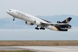 pinama9873さんが、関西国際空港で撮影したUPS航空 MD-11Fの航空フォト(写真)