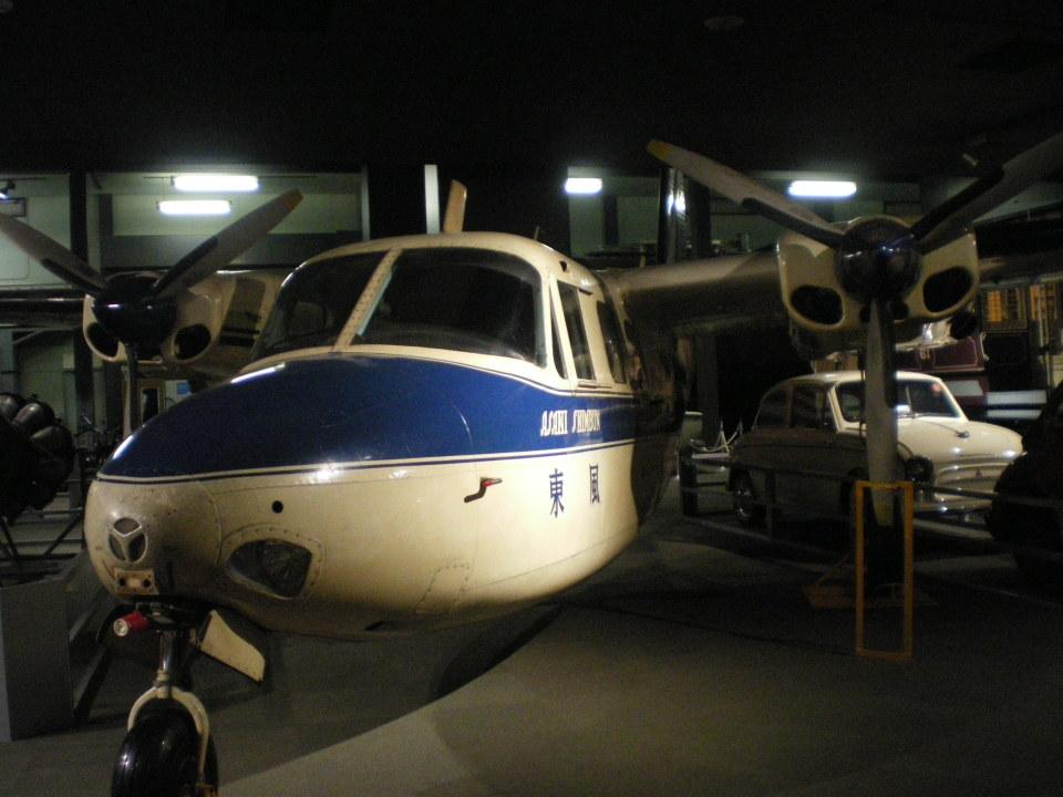 Smyth Newmanさんの朝日新聞社 Aero Commander 500 (JA5075) 航空フォト
