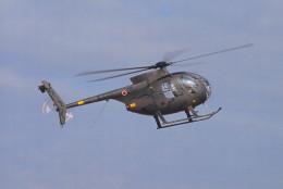 動物村猫君さんが、築城基地で撮影した陸上自衛隊 OH-6Dの航空フォト(飛行機 写真・画像)