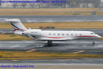 Chofu Spotter Ariaさんが、成田国際空港で撮影したウィルミントン・トラスト・カンパニー G650 (G-VI)の航空フォト(飛行機 写真・画像)