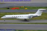Chofu Spotter Ariaさんが、羽田空港で撮影したJET GREENE LLC - ジェット・グリーン G-V Gulfstream Vの航空フォト(飛行機 写真・画像)