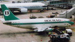 twinengineさんが、シンガポール・チャンギ国際空港で撮影したボーラック・インドネシア航空 737-230/Advの航空フォト(写真)