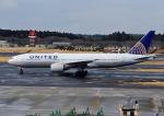 じーく。さんが、成田国際空港で撮影したユナイテッド航空 777-222の航空フォト(飛行機 写真・画像)