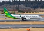 じーく。さんが、成田国際空港で撮影した春秋航空日本 737-86Nの航空フォト(飛行機 写真・画像)