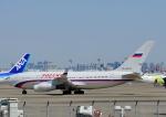 じーく。さんが、羽田空港で撮影したロシア航空 Il-96-300の航空フォト(写真)