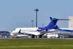パンダさんが、成田国際空港で撮影したユタ銀行 BD-700-1A11 Global 5000の航空フォト(写真)