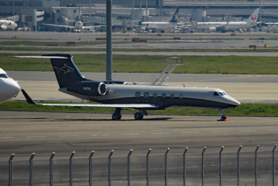 tsubasa0624さんのアメリカ企業所有 Gulfstream Aerospace G-V (N1GN) 航空フォト