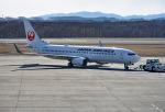 tsubasa0624さんが、釧路空港で撮影した日本航空 737-846の航空フォト(飛行機 写真・画像)
