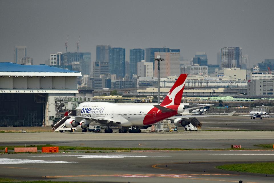 tsubasa0624さんのカンタス航空 Boeing 747-400 (VH-OEF) 航空フォト