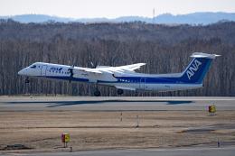 tsubasa0624さんが、釧路空港で撮影したANAウイングス DHC-8-402Q Dash 8の航空フォト(飛行機 写真・画像)