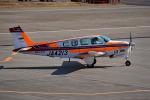 tsubasa0624さんが、釧路空港で撮影した航空大学校 A36 Bonanza 36の航空フォト(飛行機 写真・画像)