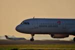 サボリーマンさんが、松山空港で撮影したアシアナ航空 A321-231の航空フォト(飛行機 写真・画像)