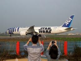 ▲®さんが、台北松山空港で撮影した全日空 787-9の航空フォト(飛行機 写真・画像)