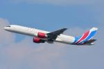 RUSSIANSKIさんが、シンガポール・チャンギ国際空港で撮影したラヤ・エアウェイズ 757-26D(PCF)の航空フォト(飛行機 写真・画像)