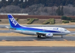 じーく。さんが、成田国際空港で撮影したANAウイングス 737-54Kの航空フォト(飛行機 写真・画像)